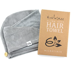 Microfiber towels for curly hair Evolatree