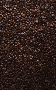 color natural hair coffee beans