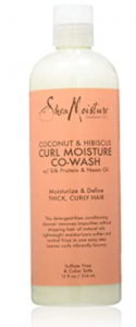 Cleansing Conditioners for curly hair SheaMoisture