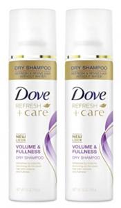 dry shampoo dove