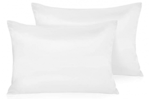 polyester satin pillowcase for curly hair - Leccod