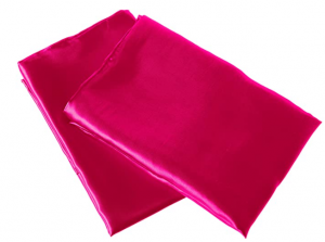 polyester satin pillowcase for curly hair - Morning Glamour