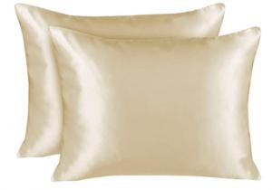 polyester satin pillowcase for curly hair - ShopBedding