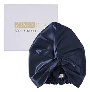 real silk hair bonnet ZIMASILK