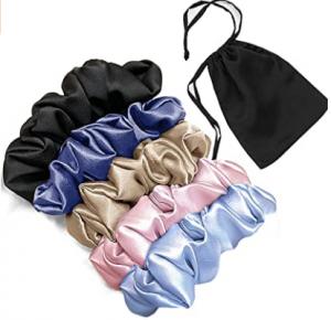 best silk scrunchie for sleeping Mommesilk