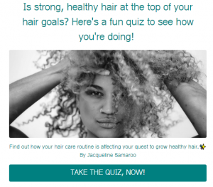 how can i get my curl pattern back quiz link