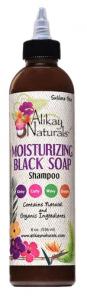 natural curl pattern alikay naturals moisturizing black soap shampoo