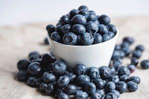 vitamin C for hair blueberries