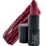 ASE Beauty ambition - classic berry lipstick - black owned beauty brands 2