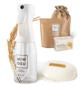 Mimosu rice water products - fermented rice water shampoo and conditioner