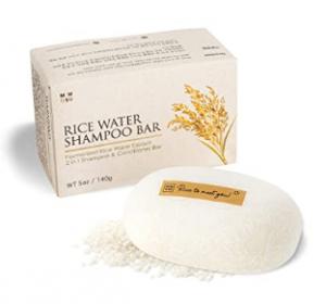 Mimosu rice water shampoo bar
