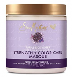 benefits of rice water for hair - SheaMoisture rice water masque