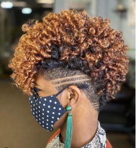 natural hair styles tapered hair @ayahna_the_great