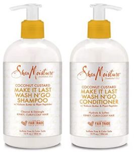 transitioning hair care routine SheaMoisture