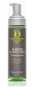 alcohol free mousse for curly hair - Design Essentials