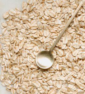 foods with biotin vegan oats
