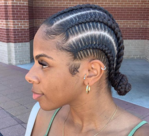 protective styles for natural hair @stephrachel_