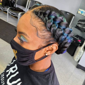 protective styles to regrow edges @voiceofhair